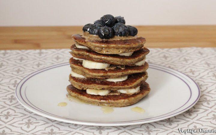 Vegane Protein-Pancakes