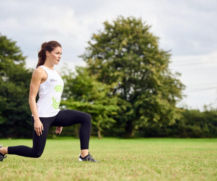 Übungen für tolle Beine und Po