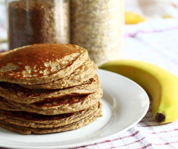Pancakes mit Haferflocken