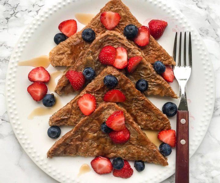 veganer Vanille-French Toast