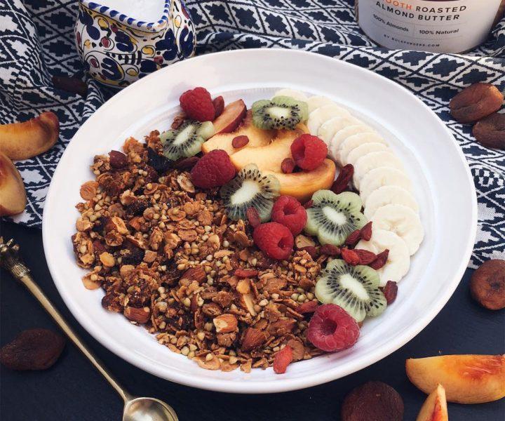 Mandel & Aprikosen Protein Granola