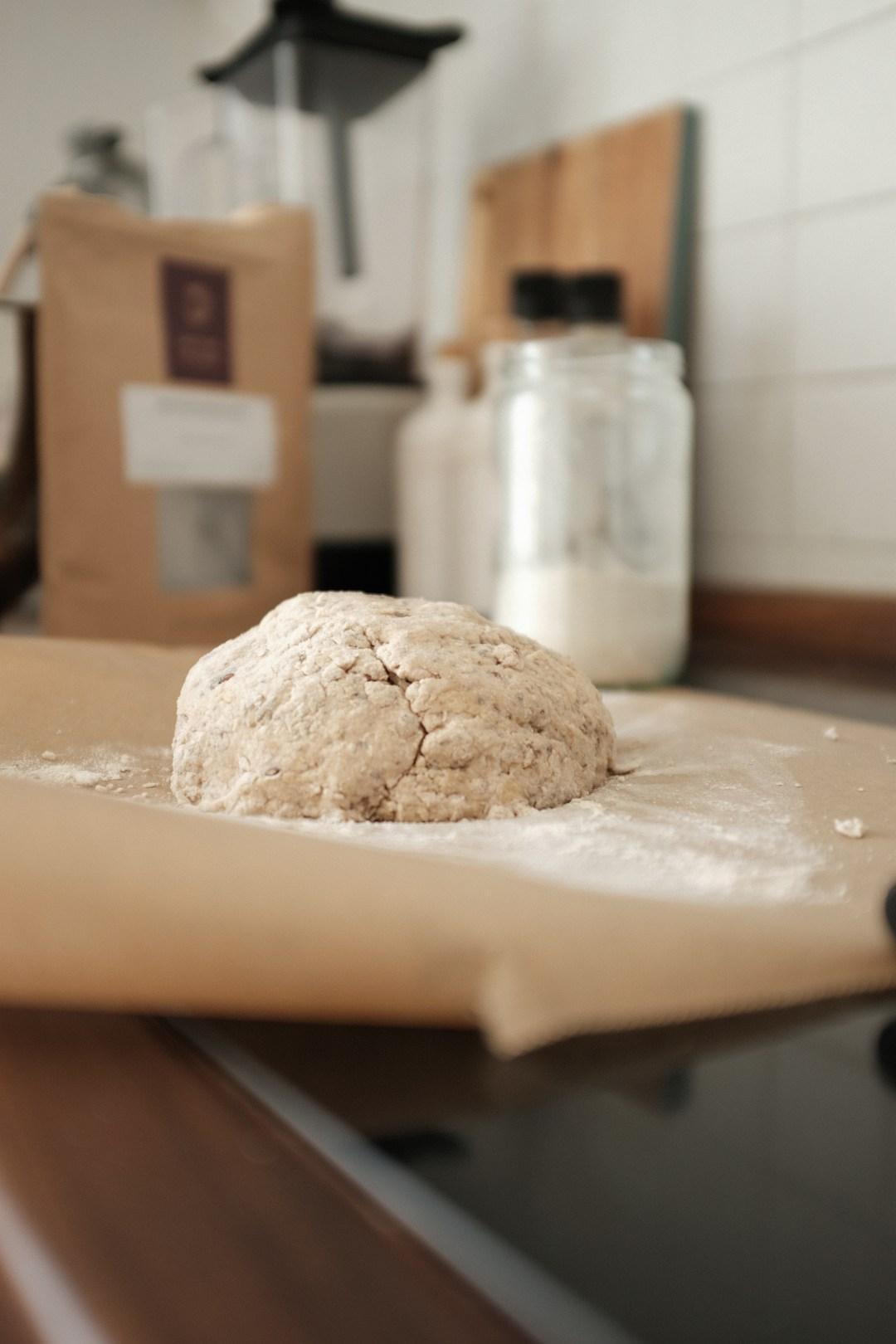Proteinbrot mit Nüssen - Zubereitung