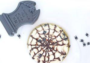 Halloween Matcha-Kuchen