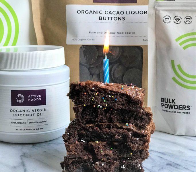 vegane Brownies mit Protein