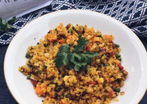 vegane Paella (low Carb)