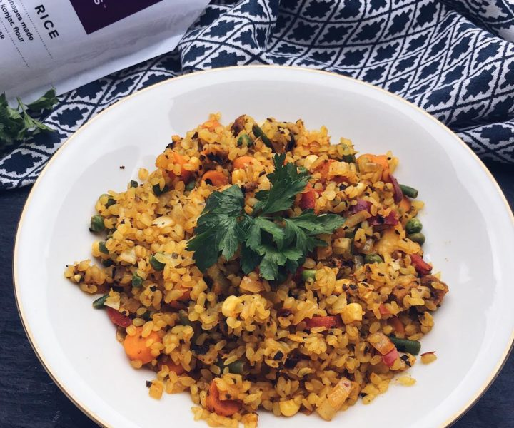 vegane Paella (low Carb)