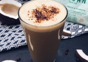 White Chocolate Coconut Mocha Shake