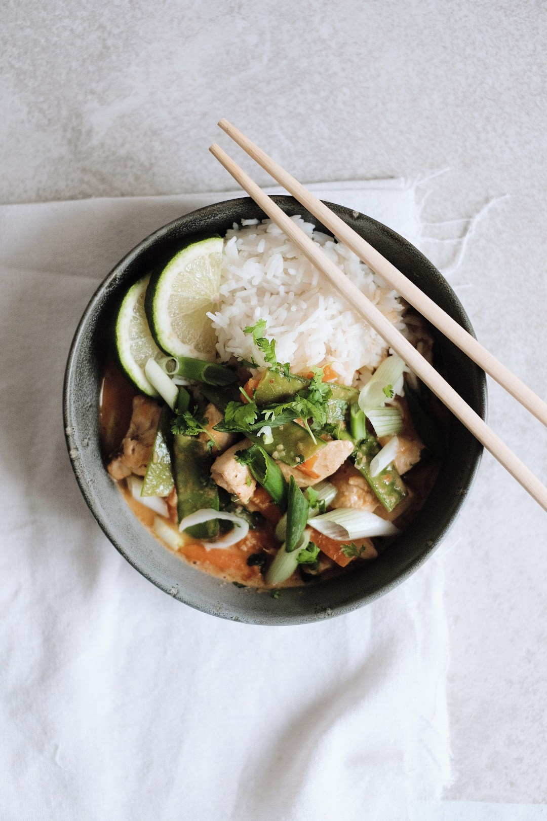 Schnelles Lemongrass Thai Chicken