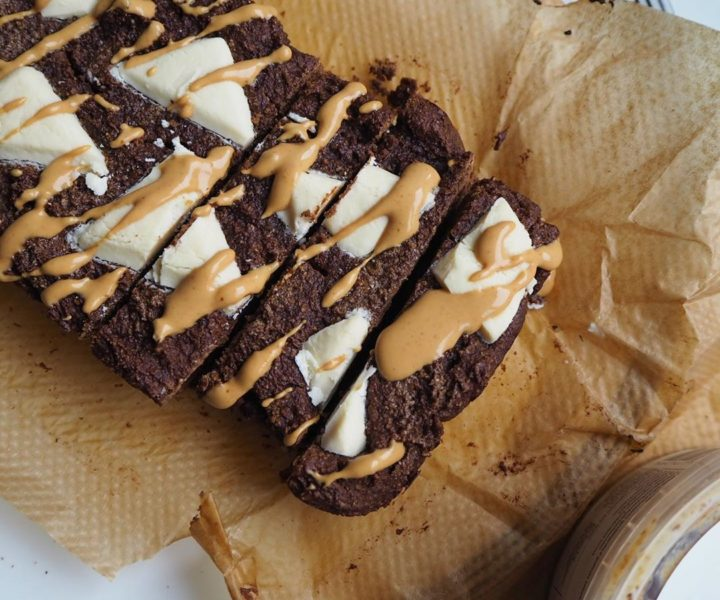 White Chocolate Brownie Bread