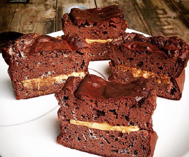 proteinkage opskrift hindbær chokolade loaf