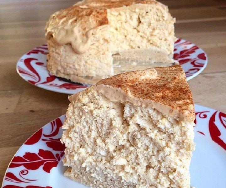 protein cheesecake pumpkinspice