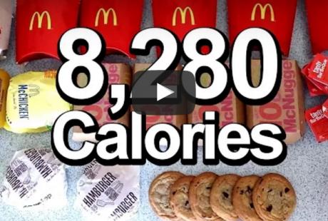 Konkurrencespiser Prøver Kræfter Med 8280 Kaloriers OL Cheat Meal