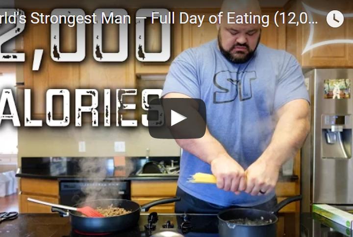 brian shaw strong man 12000 kalorier