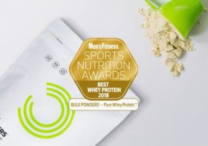 Award for bedste whey protein med Pure Whey Protein™
