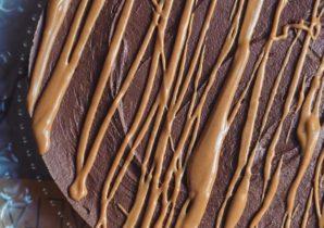 chokolade peanutbutter cheesecake
