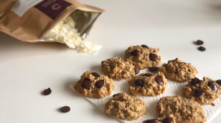 Sunde Cookies Med Havregryn, Kokosflager Og Cashewnødder