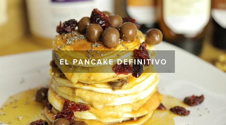 delicioso pancake saludable