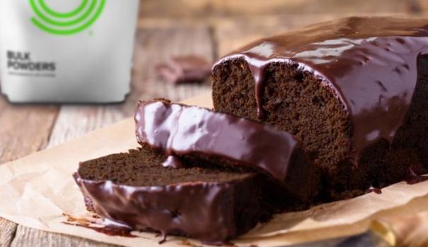 Pastel de Chocolate Proteico