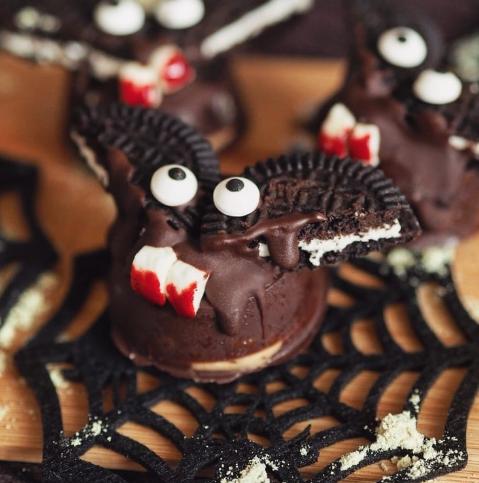 murciélagos de chocolate receta