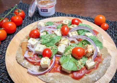 Receta: Masa de Pizza Vegana