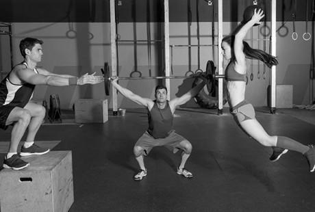 Du CrossFit en cours d'EPS