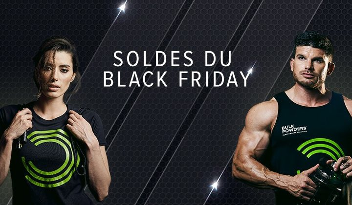 soldes du black friday bulk powders