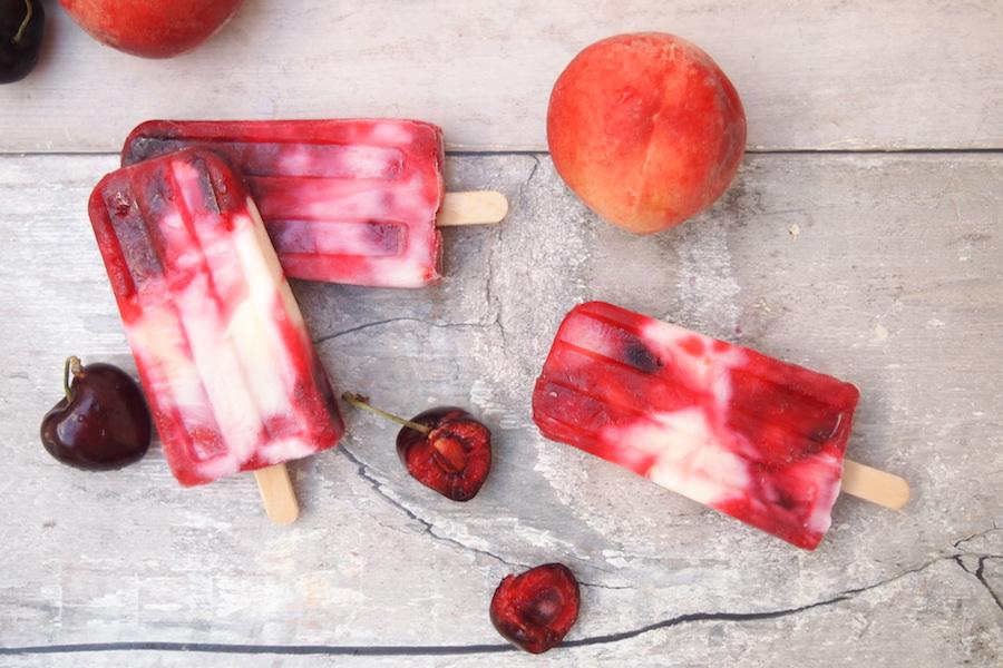 Recette Été : Esquimaux glacés fruits rouges 0%