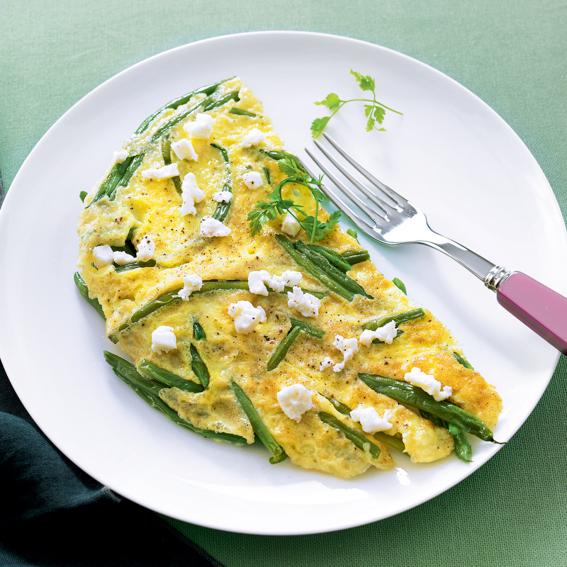 Recette Été : Omelette féta