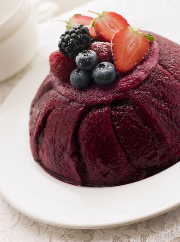 Recette Été : Pudding Fruits rouges Protéiné