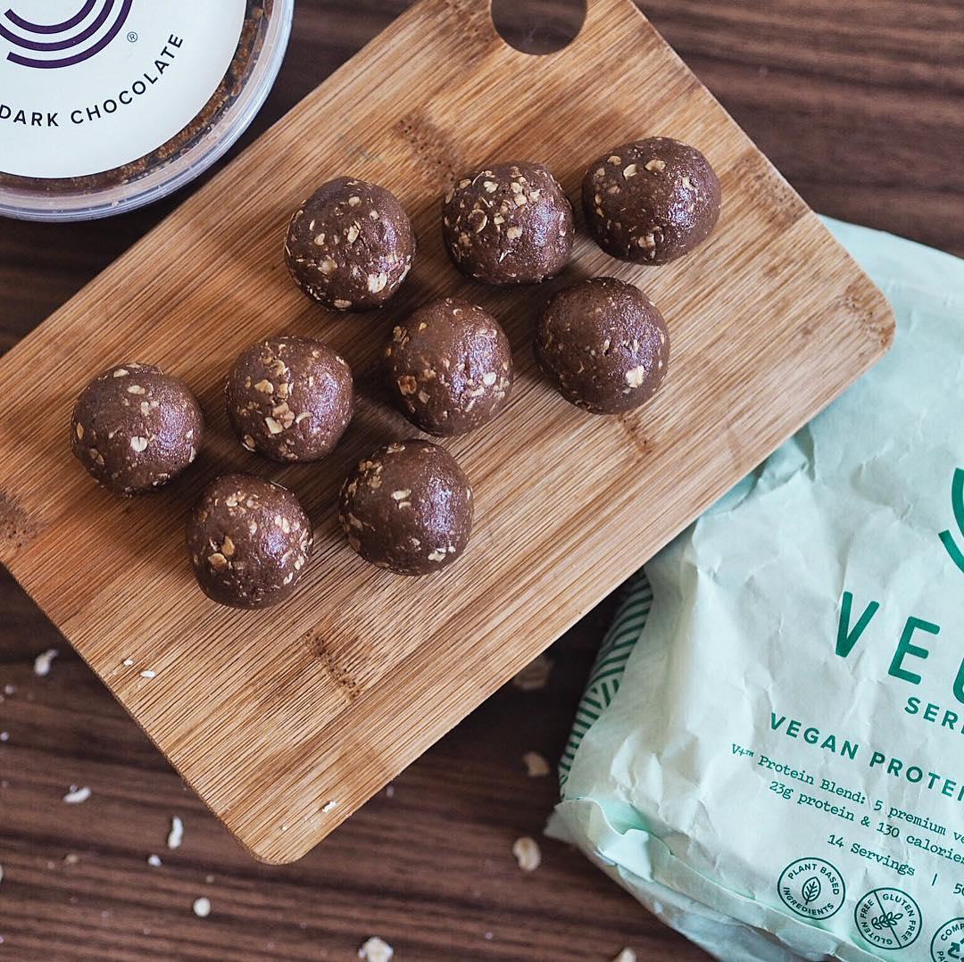 Boulettes chocolat cacahuètes