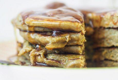 Vegan Spinach & Banana Pancakes Recipe