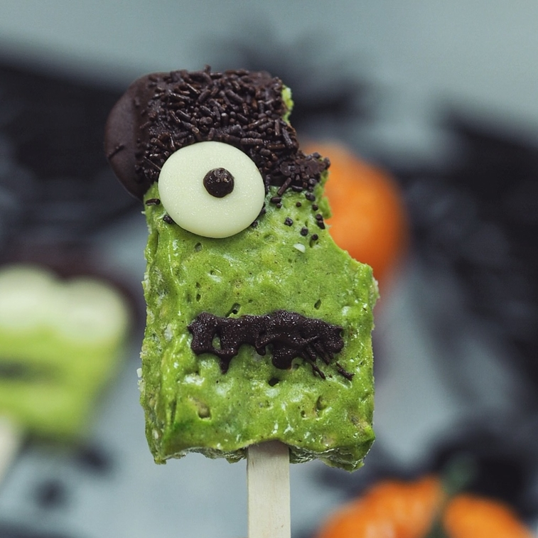 Frankenstein Crispy Pop Halloween | BULKPOWDERS®