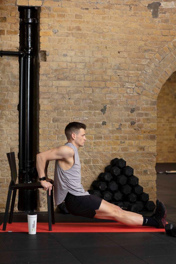 chair triceps dips step 3