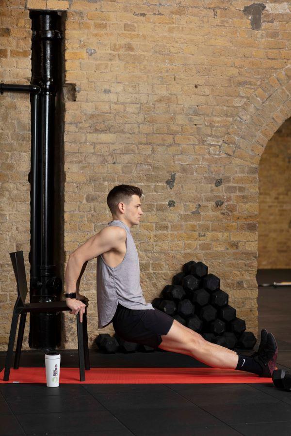 chair triceps dips step 4