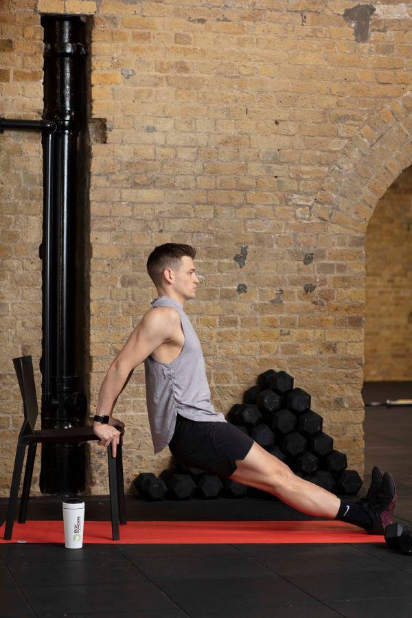 chair triceps dips step 5