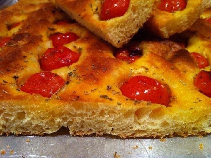 Ricetta Pasta Con Farina Di Quinoa.Focaccia Alla Farina Di Quinoa Di Ilaria Bertini