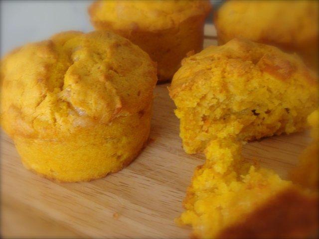 Muffin proteici di zucca