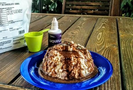 Overnight oats rivisitata cioccolato biscotto