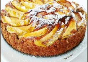 Torta di mele proteica senza lattosio senza glutine e senza zucchero