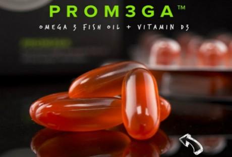PROM3GA, molto più di un normale OMEGA 3 – Olio di pesce massima concentrazione