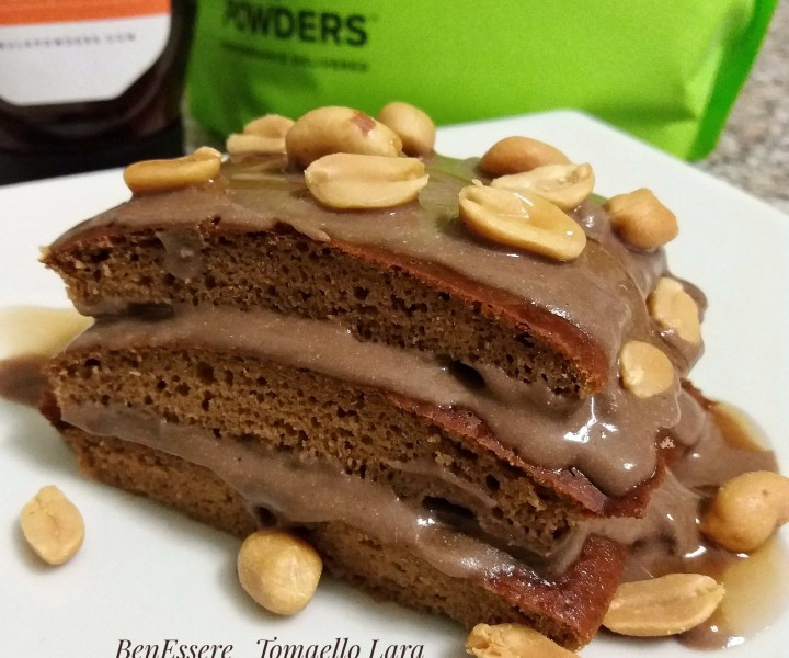 Torta gusto Snickers