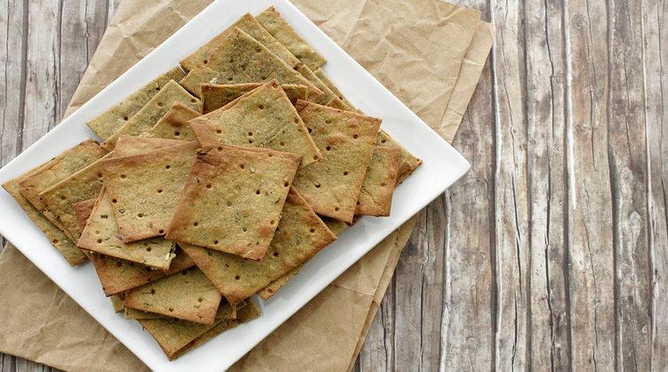 Crackers con farina di quinoa (senza glutine e senza lievito)