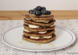 come preparare pancake vegan