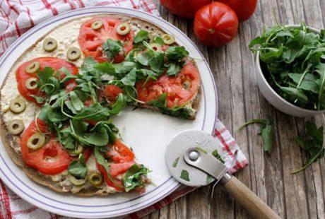 Base pizza di quinoa (Senza glutine, Proteica)