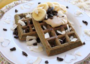 ricetta waffles vegani
