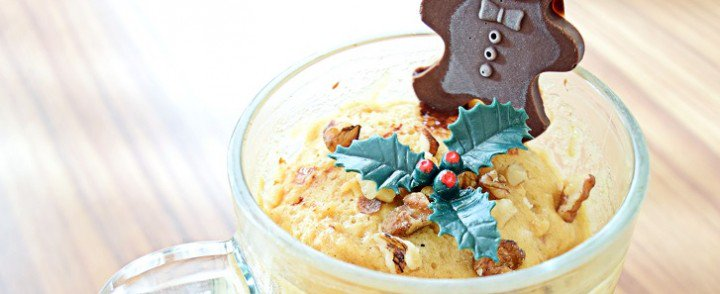 Mug Cake di Natale