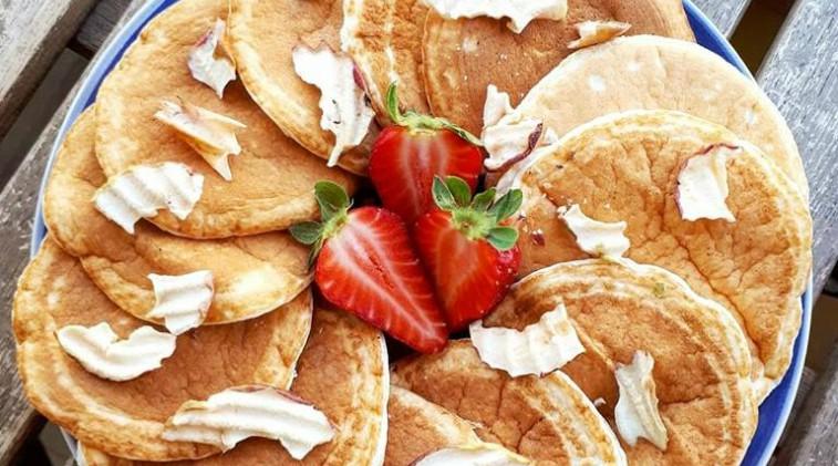 Pancakes proteici semplici e veloci