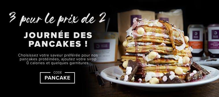 Journée des pancakes ! 3 pour le prix de 2