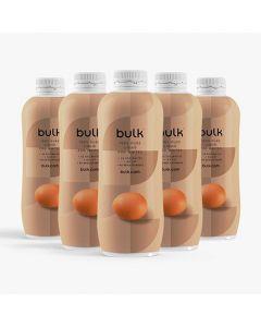 zes-pak vloeibaar eiwit flessen