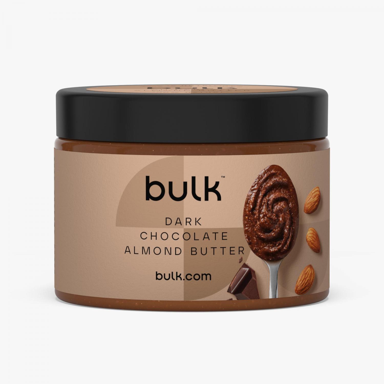 Ristet Mandelsmør Med Mørk Chokolade